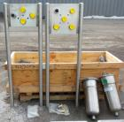 Unused- CSI/ Central States Industrial Flow Transfer System, stainless steel. Consists of: (1) 5 station flow panel with 2