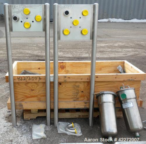"""Unused- CSI/ Central States Industrial Flow Transfer System, stainless steel. Consists of: (1) 5 station flow panel with 2"""" ..."""