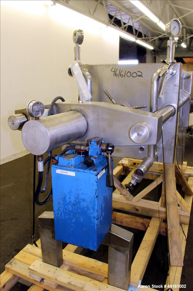 Used- Polishing Press, 304 Stainless Steel.