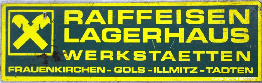 Used- Raiffeisen Lagerhaus Polishing Press