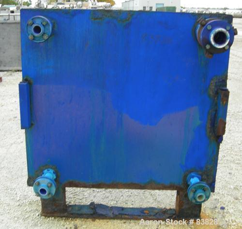 """USED: Avery Filter Press, carbon steel frame. (53) 48"""" x 48"""" polypropylene plates, approximately 832 square feet filter area..."""