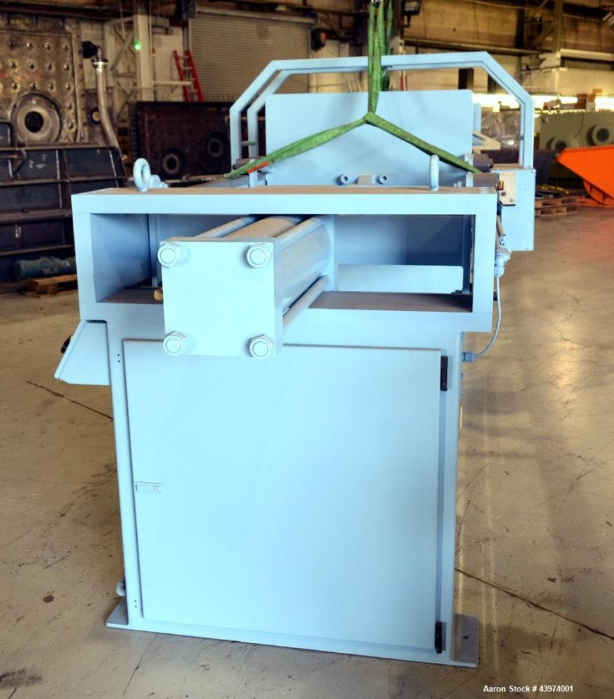 "Used- Beckart Environmental Hy-Pack Filter Press, Model 1000-40(60)A.  Carbon steel frame, (64) 39-1/4"" x 39-1/4"" x approxim..."