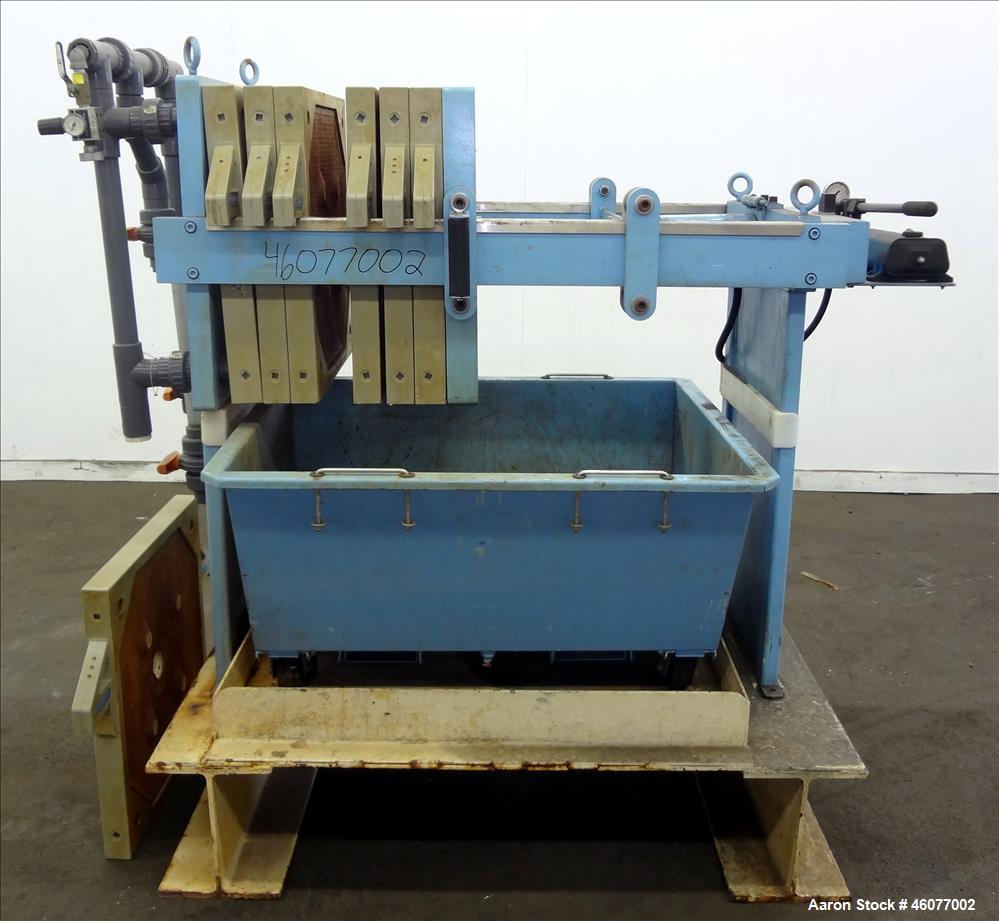 Used- Beckart Environmental Hy-Pack Plate and Frame Filter Press