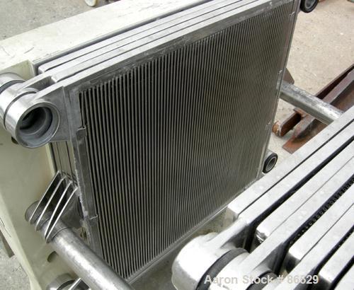 Used- Stainless Steel Carlson Polishing Press