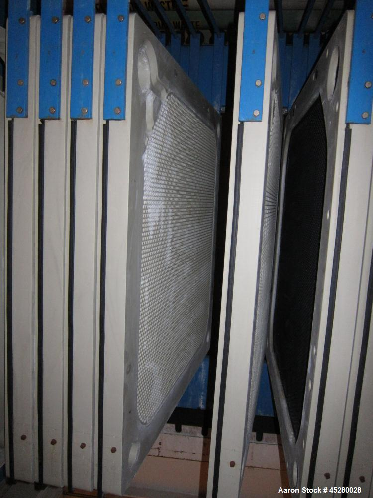 Used- Durco Quadra Plate & Frame Press Filter Press, Model QPM-1200/32-14/28