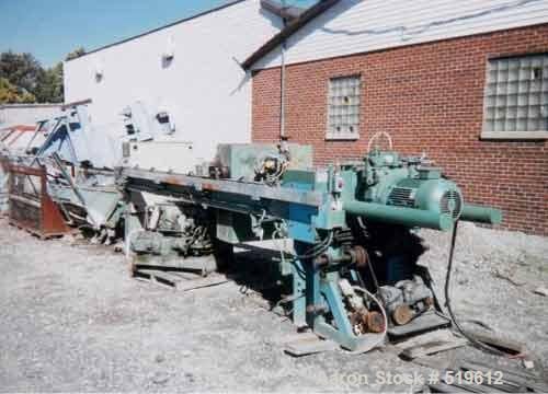 USED: Edwards & Jones filter press, 1000 mm, non-gasketed, 29 cu ft expandable to 36 cu ft, 225 psi. Has plate shifter, core...