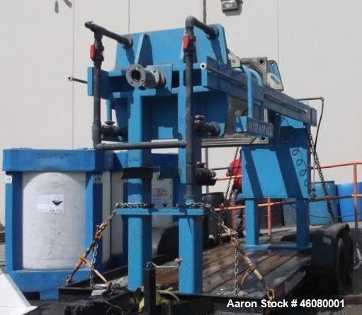 Used- WaterMark Filter Press