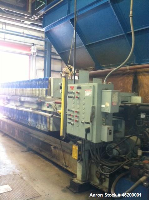 Used-Hoescht Filter Press, Model 1200/32-PP-225-100