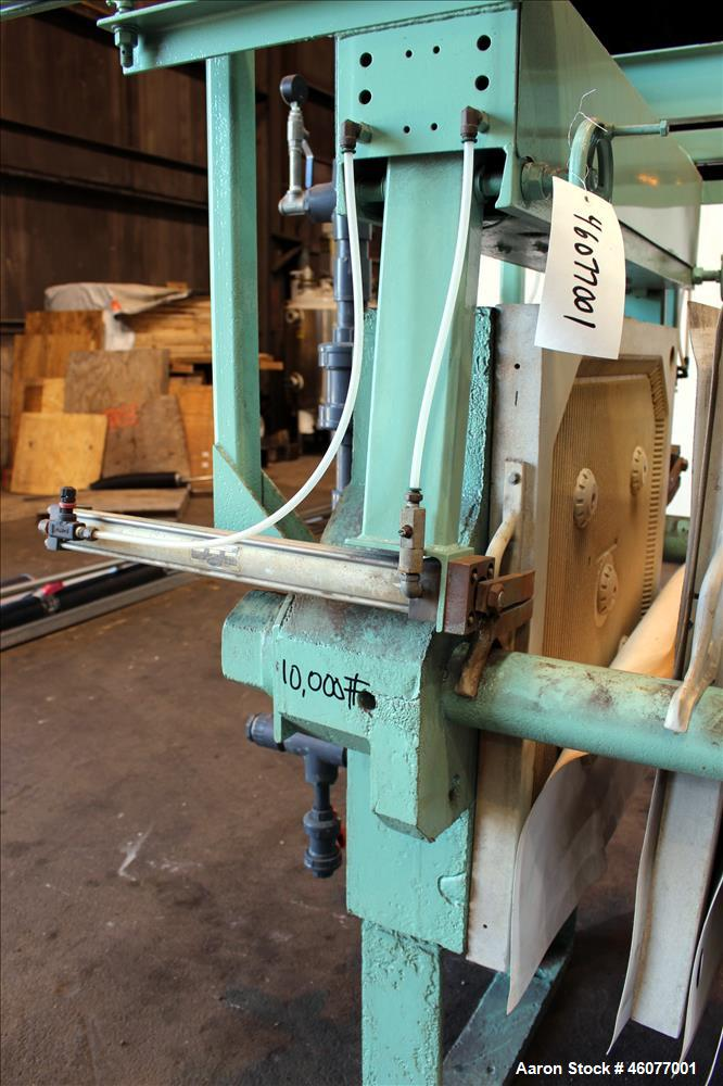 Used- Industrial Filter & Pump MFG. Co. Plate and Frame Filter Press