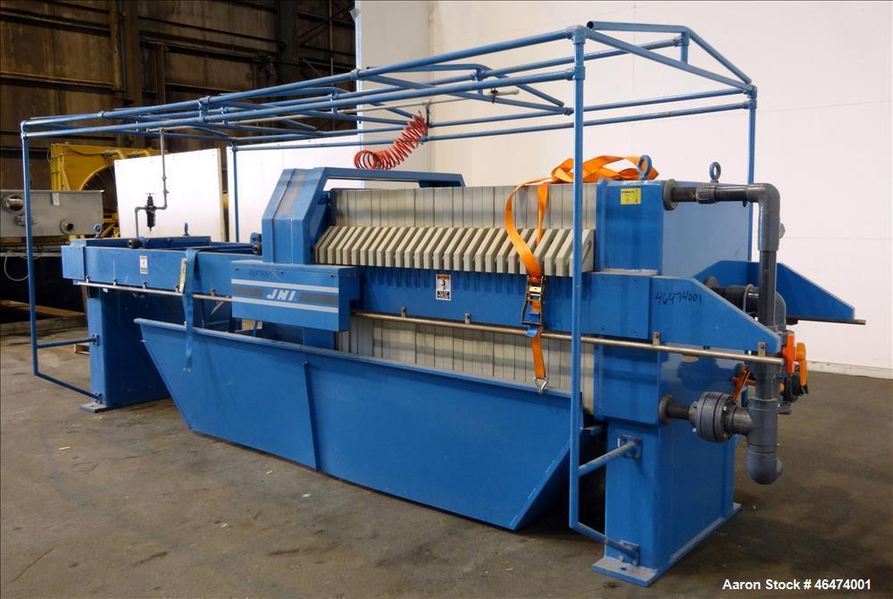 Used- JWI Filter press, Model 1000G32-25/50-20/40SYLS.