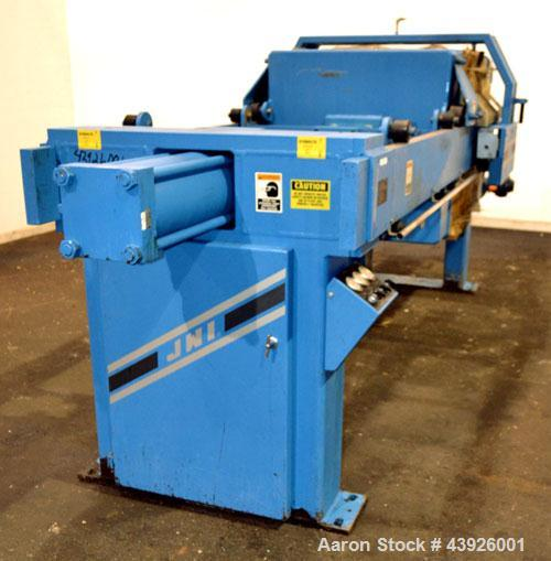 "Used- JWI J Press Filter Press, Model 1000N32-12/30-10/25SYLS. (12) 39.3"" x 39.3"" x 1/2'' recess polypropylene plates, (1) h..."