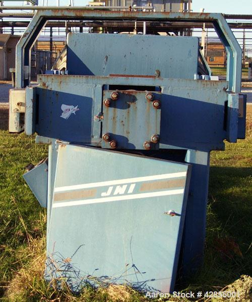 Used- JWI Polypropylene Recessed Plate Filter Press, Model 1200G32-34/42-40/50. Approximately 850 square feet, rated approxi...