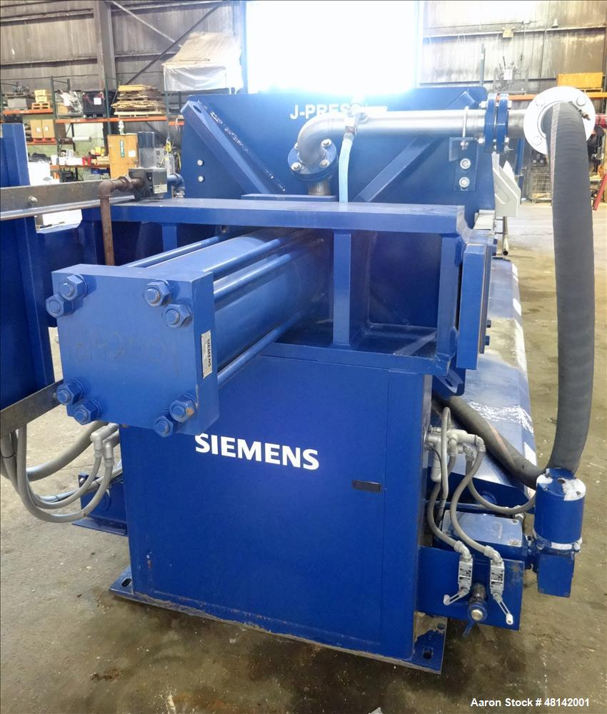 Used- Siemens JWI J Press Filter Press, Model 1200N32-76-100SYLC.