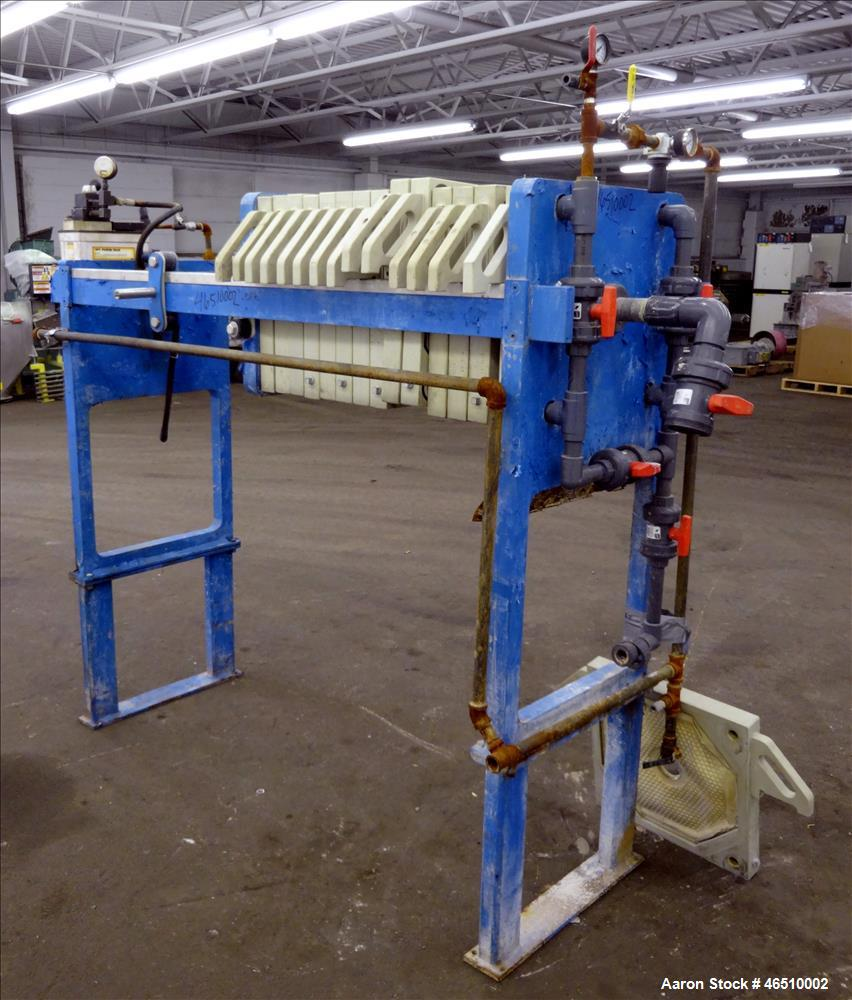 Used- Met-Chem Filter press, Type 470G32-13/19-2/3MYLS,