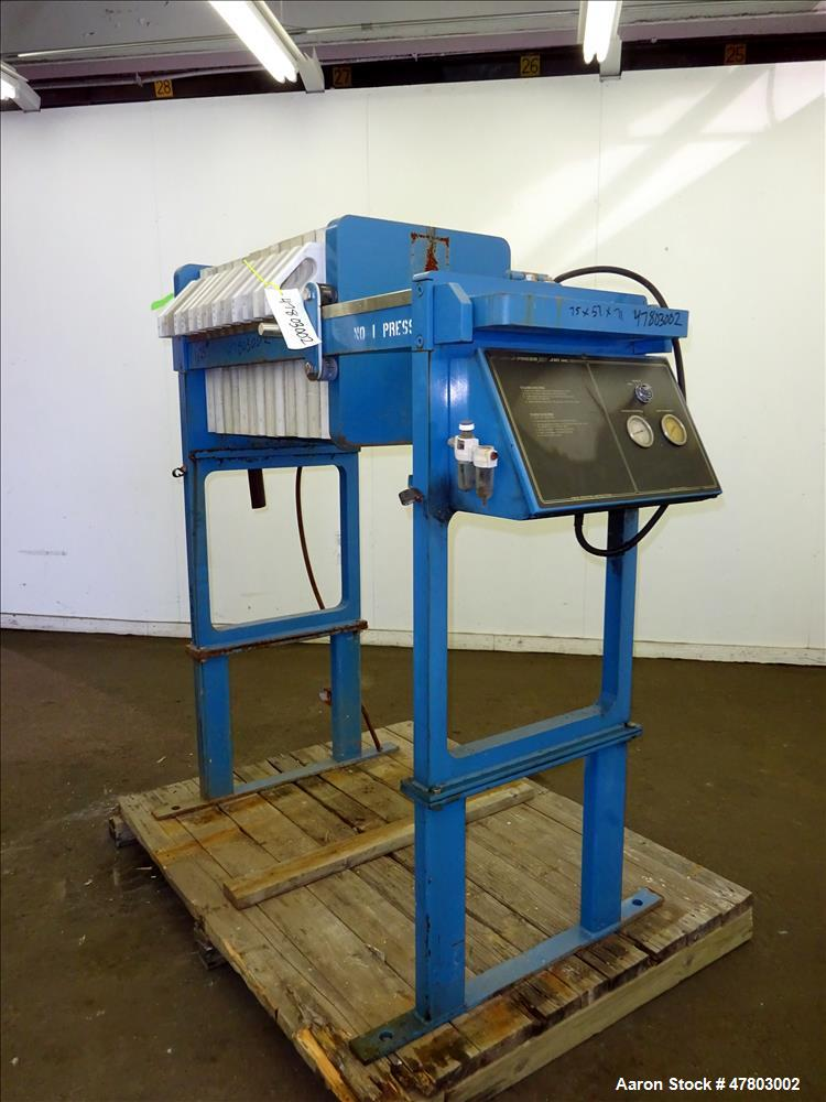 Used- JWI Filter Press, Model 470G32-13-2DA, 470mm.