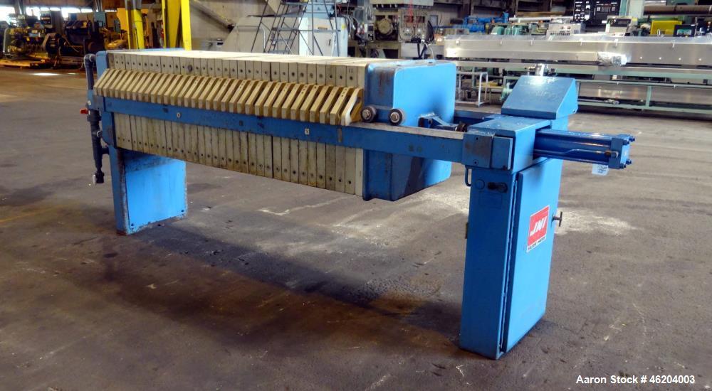 Used- JWI Filter Press, Model 630G32-10-3DN