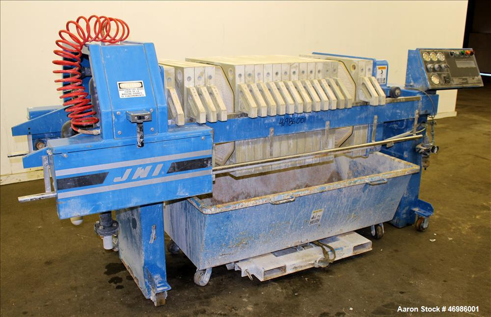 Used- JWI Filter Press, Model 630G32-17-5SYLS