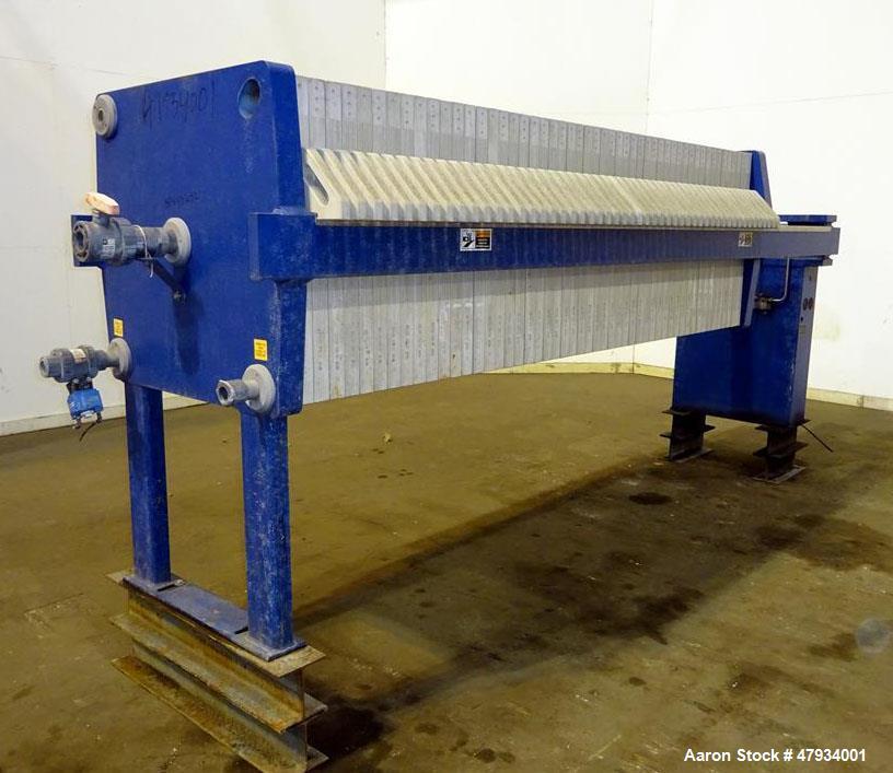 Used- JWI J-Press Filter Press, Model 800G25-50-20DYLW.