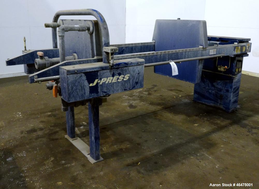 Used- U.S. Filter / JWI J-Press Filter Press
