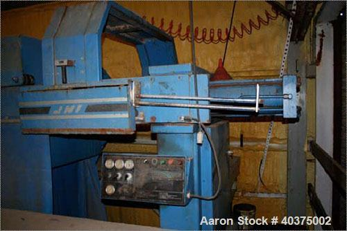 Used-JWI filter press, 75 cubic feet, 1200G32-62-755A, 3506. Max filtration pressure 100 psi, hydraulic closing pressure 280...