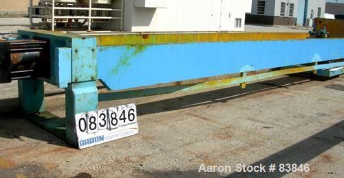 Used- Carbon Steel Komline Sanderson Filter/Squeeze Press