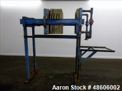 Used- MLT Chem. Inc. Filter Press.