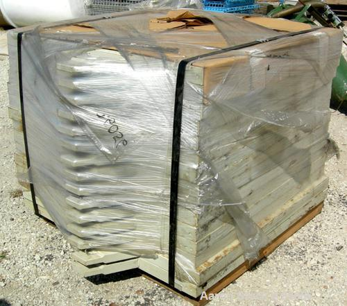 "Used- Netzsch Filter Press, Model 1200/LP/36. (36) 1200 mm (47.2"" x 47.2"") polypropylene plates, approximately 1/2"" deep. To..."