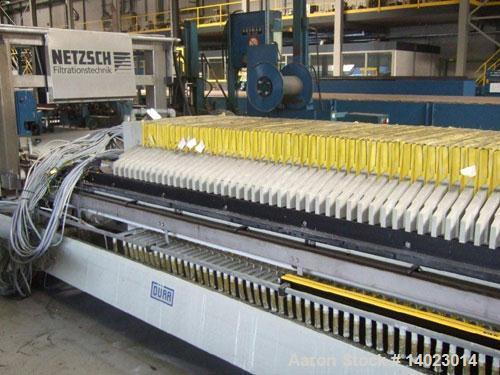 Used- Netzsch-Durr Filter Press