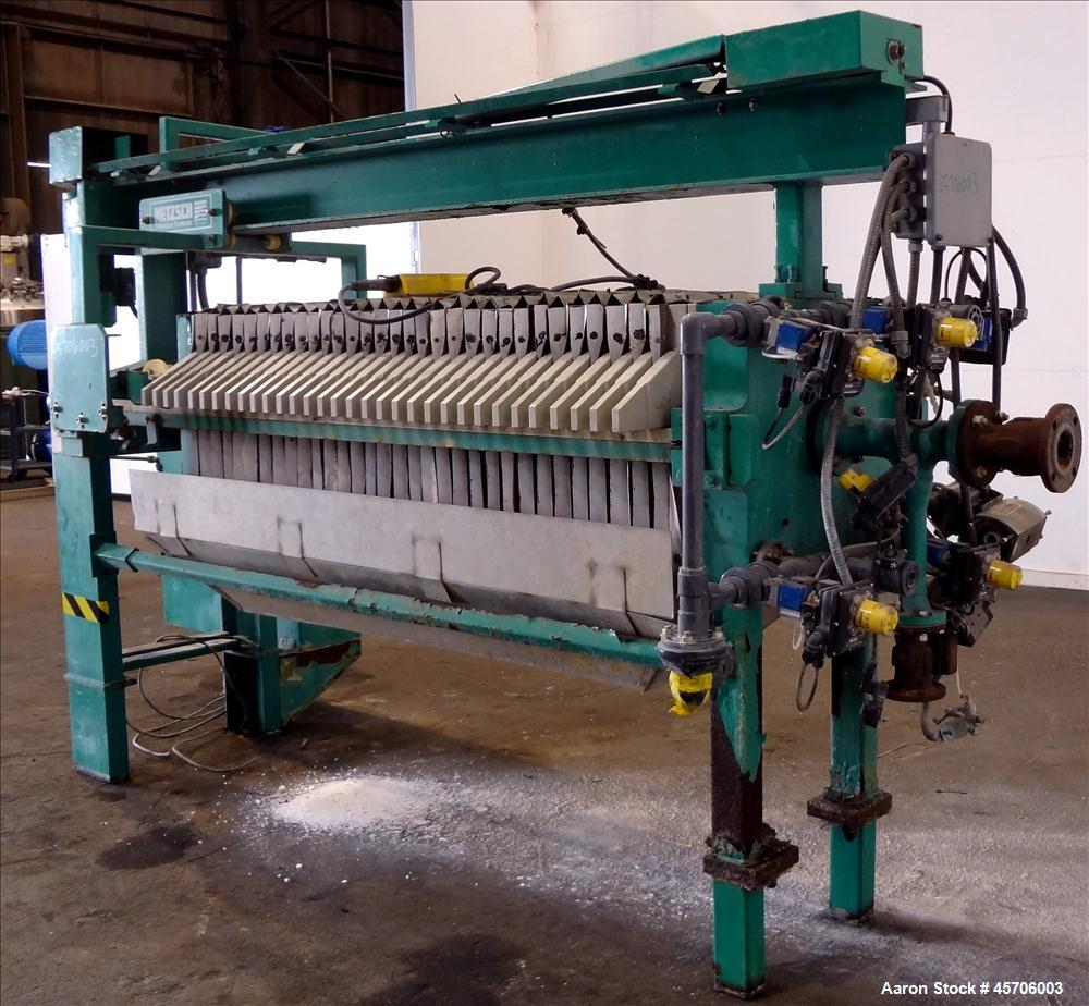 Used- Netzsch Filter Press Model 630/1/24/32.