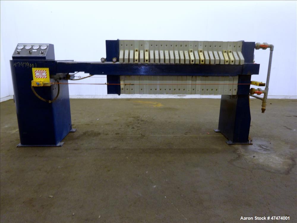 Used- Pacific Press Company Filter Press, Model P630E132A-5R
