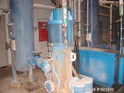 USED: Passavant water treatment filter press, model 64, 3408 square feet filtration area, equal to 39.6 square feet of filtr...
