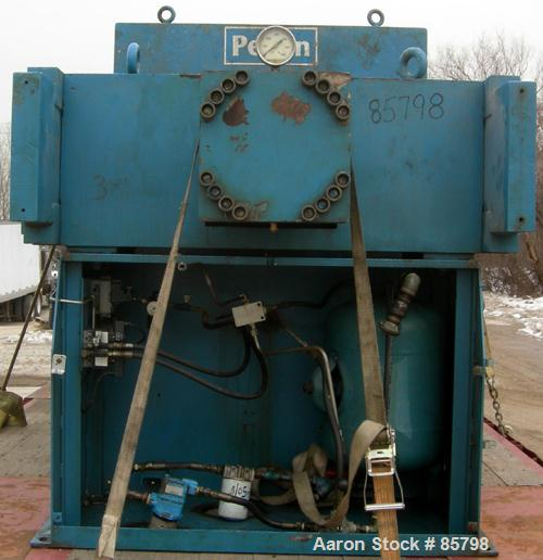 "Used- Perrin Filter Press, Model 1200MM. (54) 1200 mm (47.2"" x 47.2"") x 2-1/2"" thick polypropylene plates, approximate 1/2"" ..."