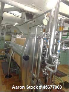 Used- Schenk Filter Press System, Model Niro 1000/150