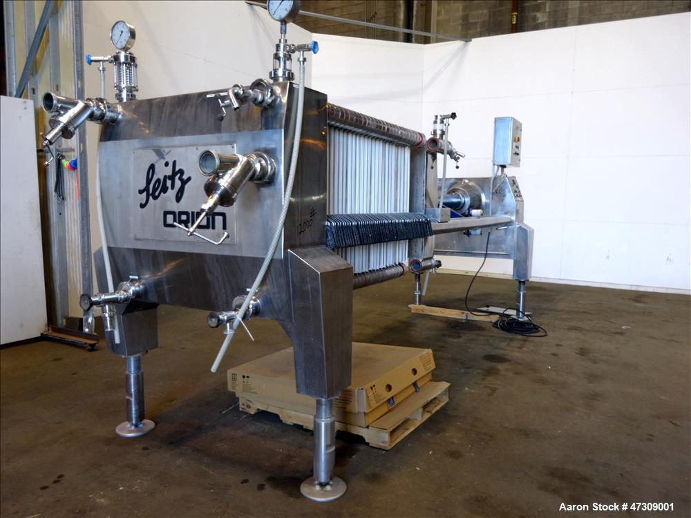 Used- Seitz Orion 100 Frame and Plate Filter Press
