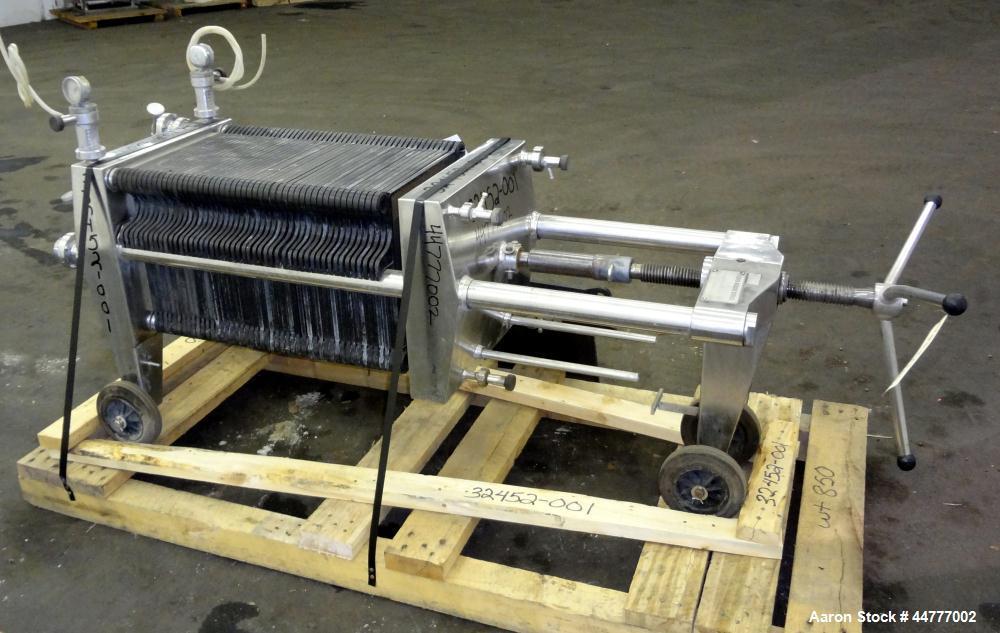 Used- Stainless Steel Seitz-Werke Polishing Press, Type 40/60
