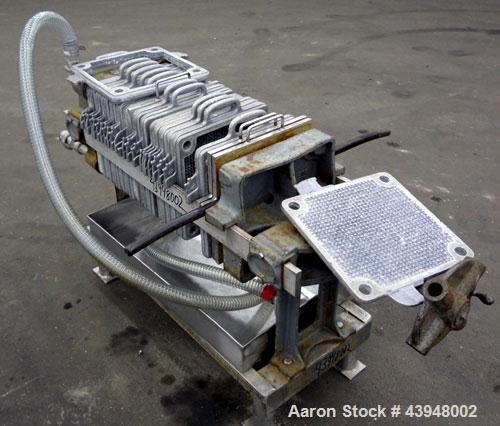 Used- Aluminum T. Shriver Filter Press