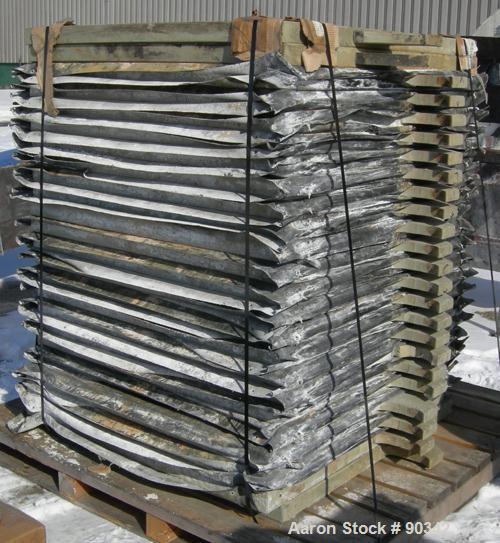 """USED: Sperry filter press, type 21, size 48. (85) 48"""" x 48"""" polypropylene plates, approximate 1/2"""" deep recess each side. Ap..."""