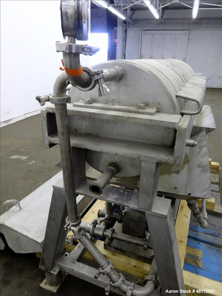 Used- Star Systems Plate and Frame Filter Press