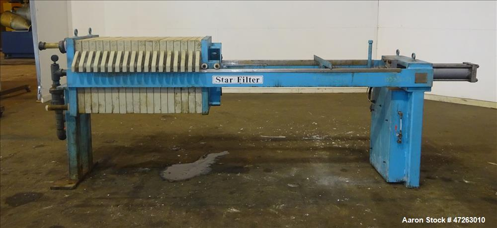 Used- Star Systems Filter Press, Model R17630/50630004