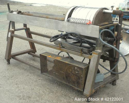 """Used- Star Systems Polishing Press, Model 12SS4-818-TIHO, Model Number 12-18B/1P, 304 Stainless Steel. (6) 18"""" diameter plat..."""