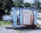USED: Clow filter press, 8 cu ft, 36