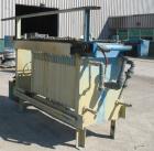 USED: Durco Quadra Press, 23 polypropylene plates 31