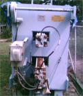 Used-Duriron Quadra Plate Frame Filter Press, Model QP-1200/32-34.866 square feet, 36 plates, 100 psi max pressure, 90 deg C...