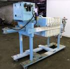 Used- Emico Shriver Filter Press, Model M630FB-6PP-MEMH-DB-100-40MM.