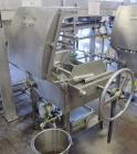 Used- Ertel Vapor-Master Enclosed Plate & Frame Filter Press, Model EUS-6, 16'' x 16'', Stainless Steel. (6) Plates, (5) Fra...
