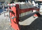 Used- JWI Filter Press, includes (20) 24