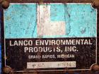 Used- Lanco Environmental Products Filter Press, Model 4-5A. (16) Approximately 24-5/8