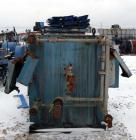 USED: Perrin plate and frame filter press, model 215-FL-51, cast iron frame. (48) 48