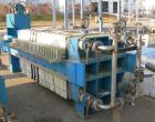 USED: Standard Filter Corp filter press, model M-36-454-G. (31) 36