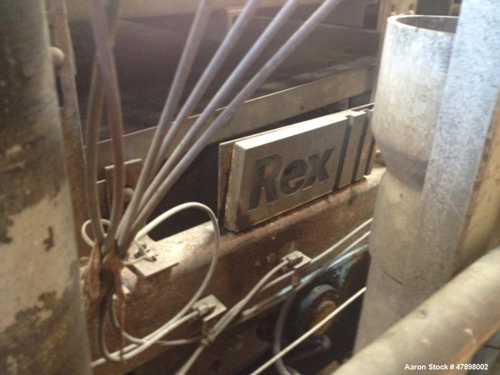 Used- US Filter Dewatering Belt Press, Model J-Belt 2000, Series 2.0. 2 meter belt. Stainless steel frame. Left hand configu...